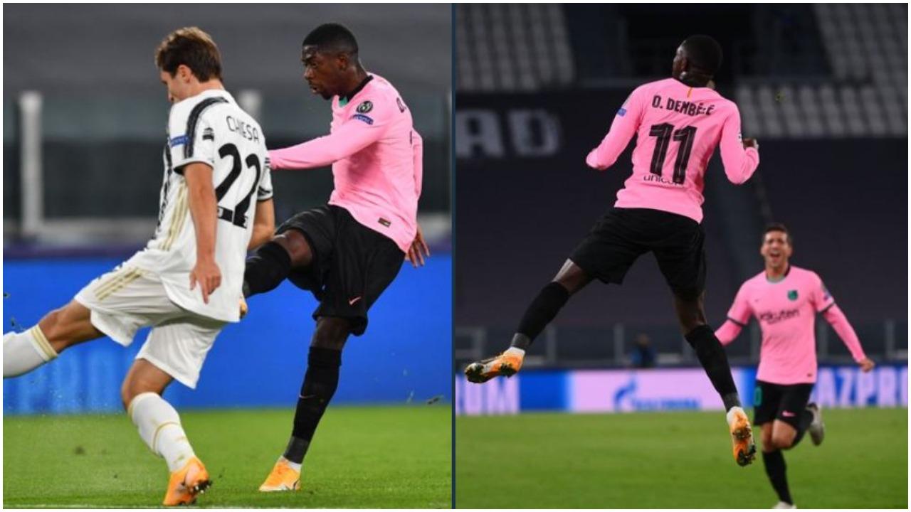 """VIDEO/ """"Predha"""" e Dembele ndëshkon Juventusin, Correa kalon Lazion përpara"""