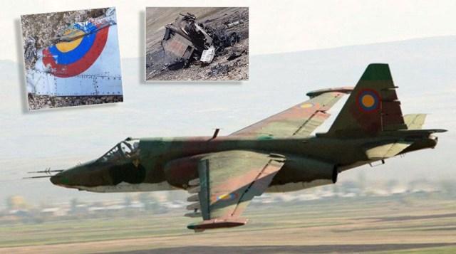 Azerbajxhani rrëzon avionin armen