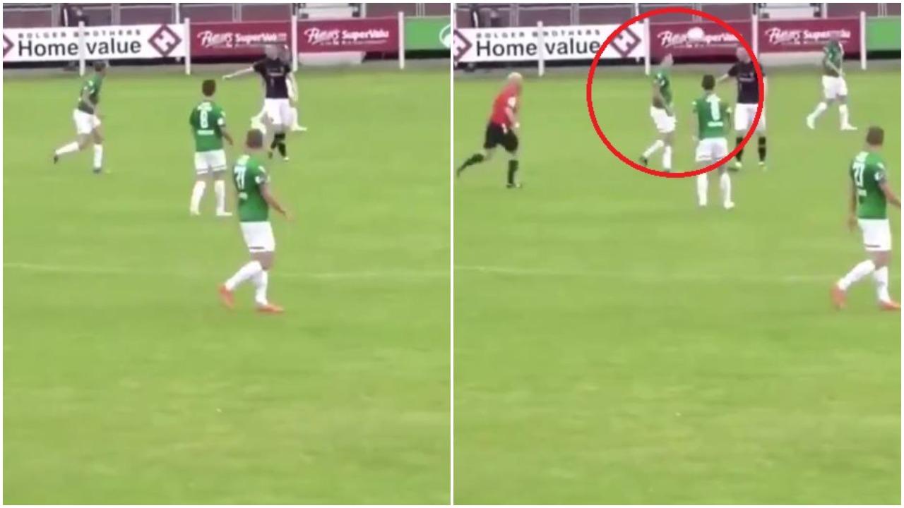 VIDEO/ Futbolli amator është fantastik, mos e humbisni episodin qesharak!