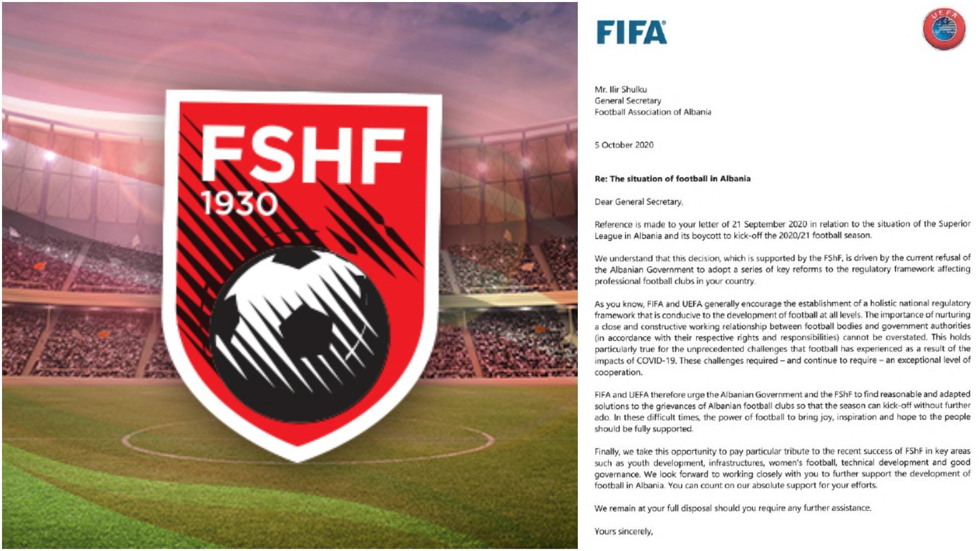 Bojkoti i Superiores, FIFA mesazh FSHF-së: Riktheni futbollin