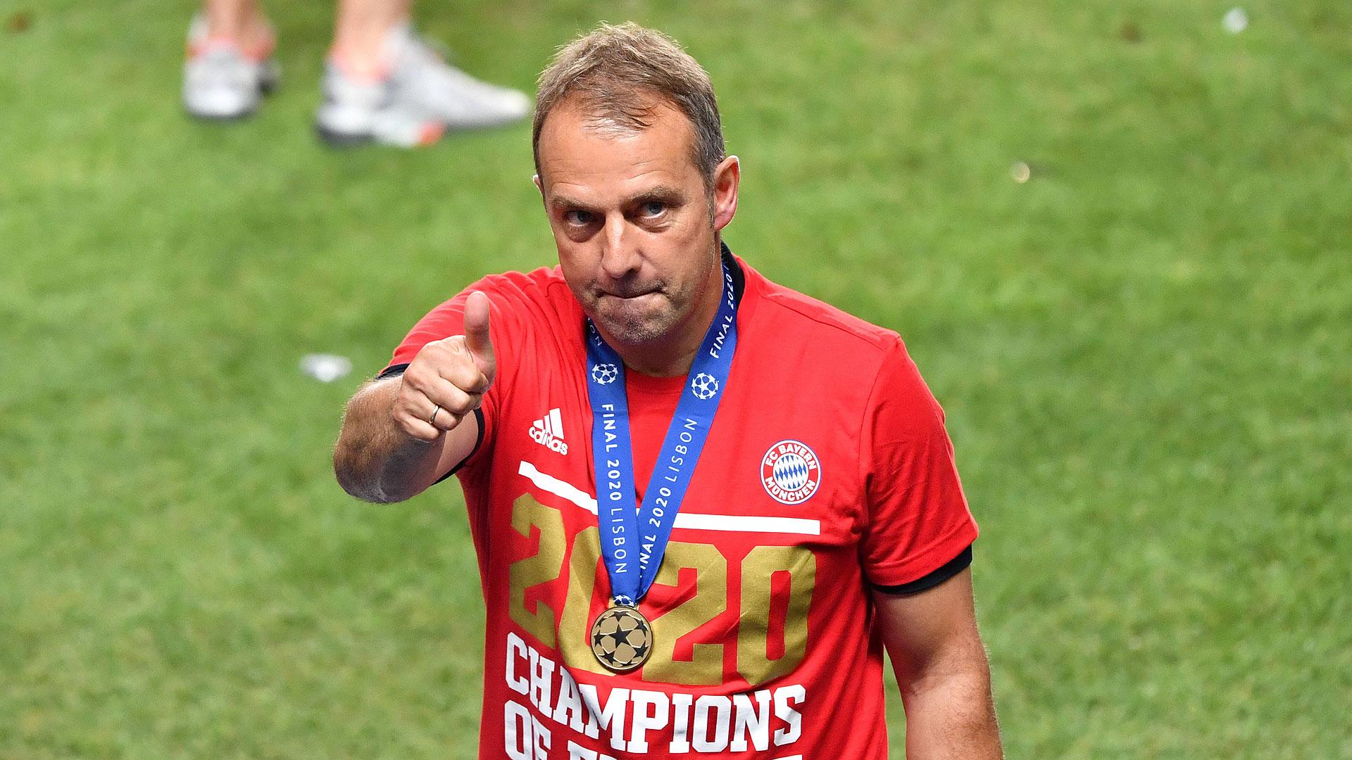 Tre gjermanë për trajnerin e vitit, Flick mposht Klopp dhe Nagelsmann