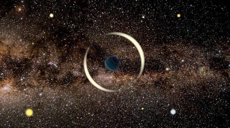 """Shumë i çuditshëm, zbulohet planeti i """"pavarur"""" në Rrugën e Qumështit"""