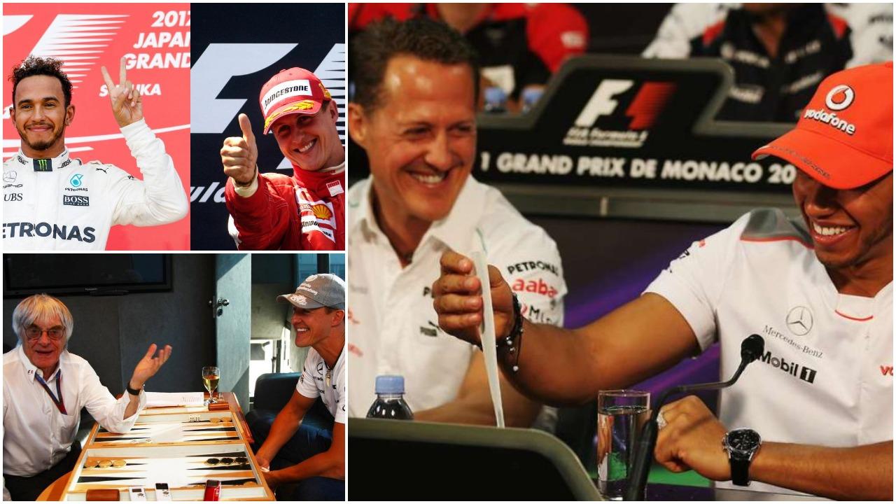 """Diferenca mes Schumacher dhe Hamilton, rrëfehet """"kapo"""" Ecclestone"""