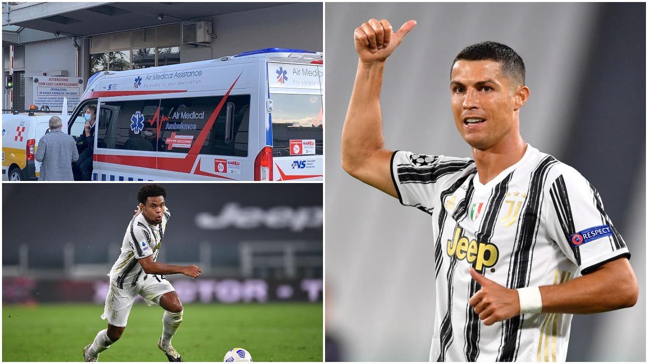 Juventus vatër infeksioni/ Ambulanca pret Ronaldon, edhe McKennie pozitiv