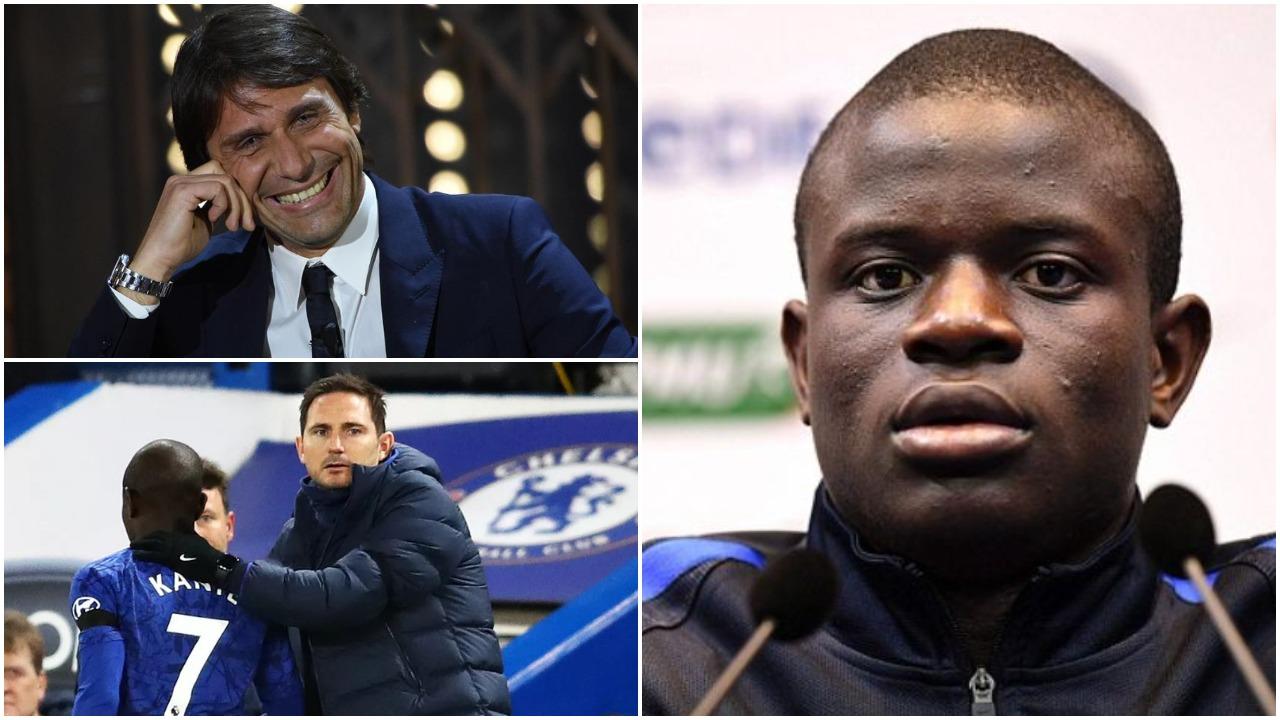 """Objektivi Kante: Buzëqesh Conte, Inter merr një """"asist"""" nga Frank Lampard"""