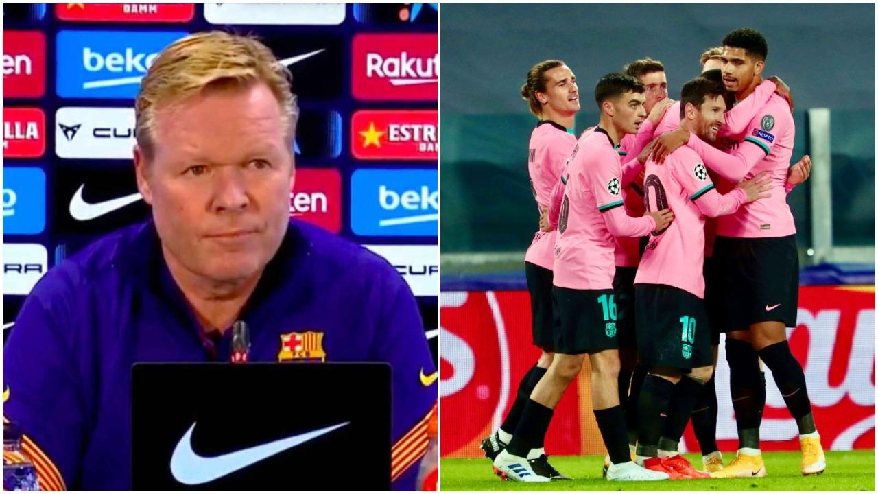 Messi e De Jong jashtë për Champions, Koeman shpjegon vendimin