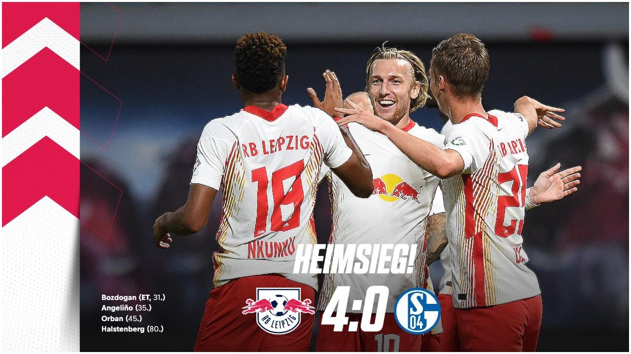 VIDEO/ Leipzig në formë fantastike, Schalkes s'i bën derman as trajneri i ri