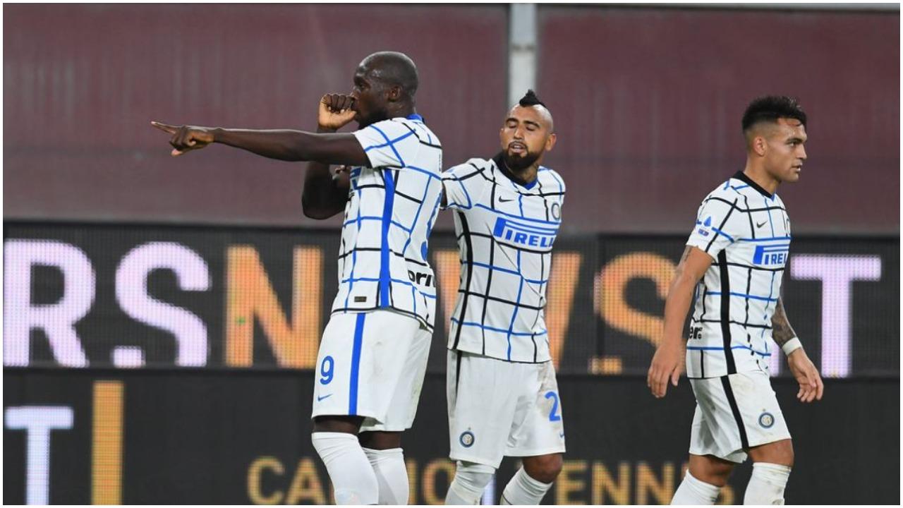 VIDEO/ Interi rikthehet te fitorja, vendosin golat e Lukakut dhe D'Ambrosio