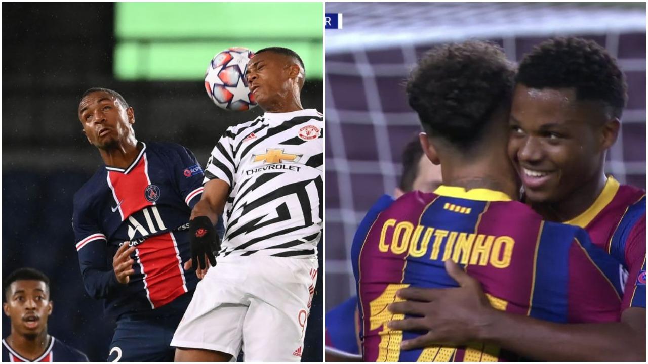 VIDEO/ Autogol i çuditshëm, Martial s'i beson syve! Barcelona nis goleadën