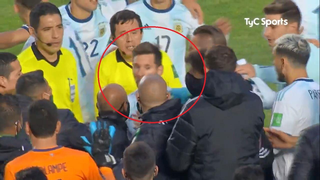 VIDEO/ Messi nuk duron: Shkofsh në djall, tullac që nuk t'u mbyll goja