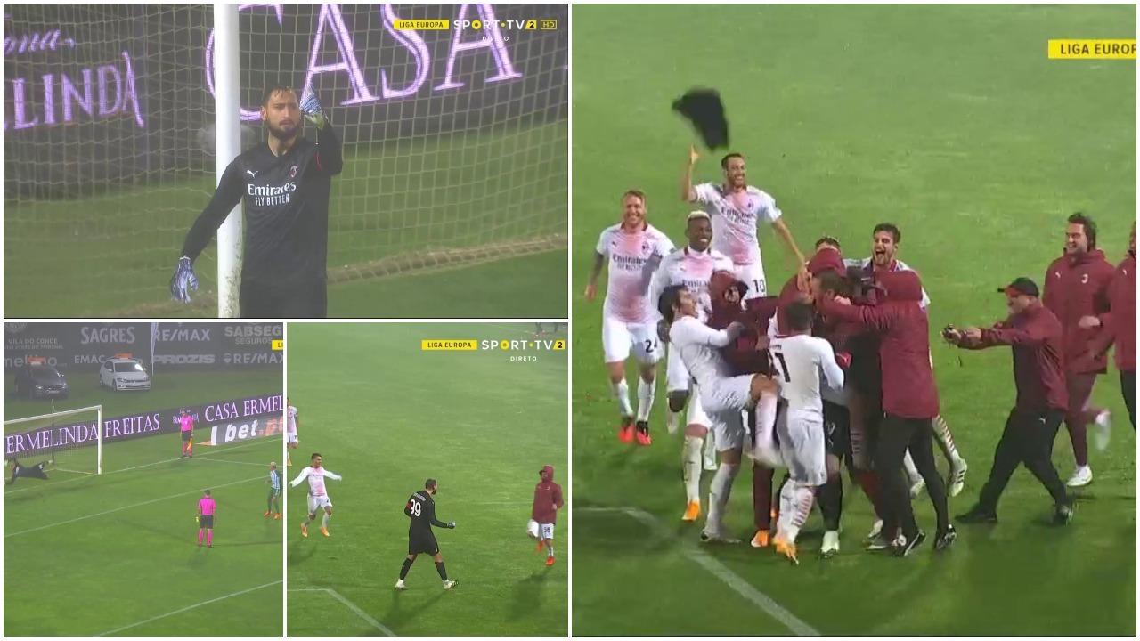 VIDEO/ Çmenduri në Portugali, Milani kualifikohet pas… 24 penalltive!