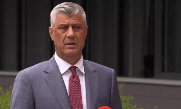 Thaçi: Tani është momenti i jashtëzakonshëm për marrëveshjen finale Kosovë-Serbi