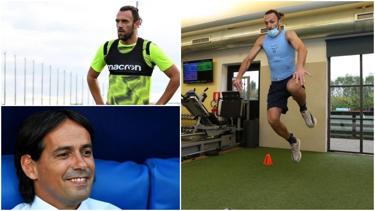 """Stërvitja e parë me Lazion/ Buzëqesh Inzaghi, Vedat Muriqi dhuron """"show"""""""