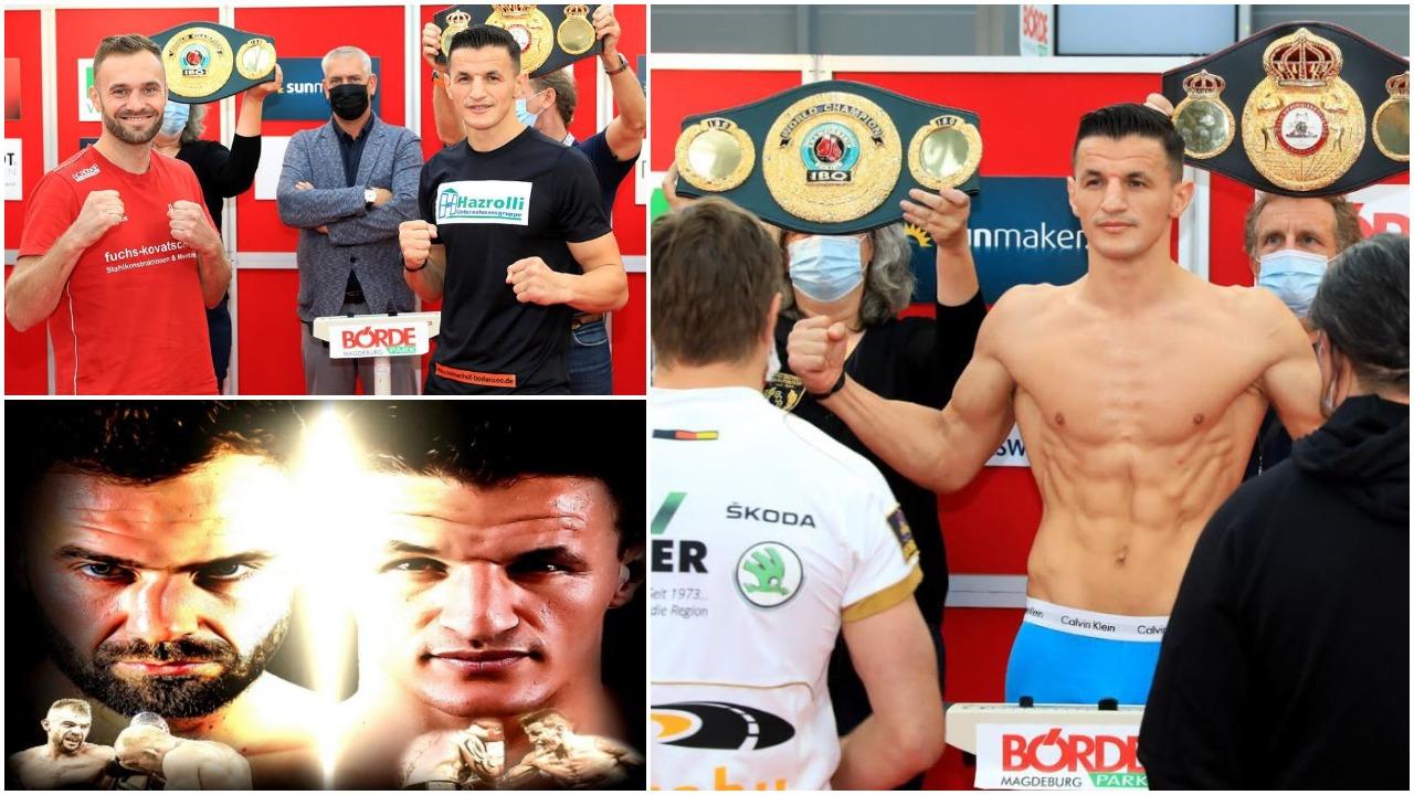 Shans fantastik për boksierin Robin Krasniqin, nesër dueli për kampion bote