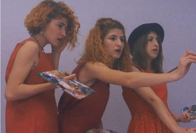 Tre motra një pasion/ Njihuni me vajzat që natyra e Belshit ju zbuloi dashurinë për pikturën!