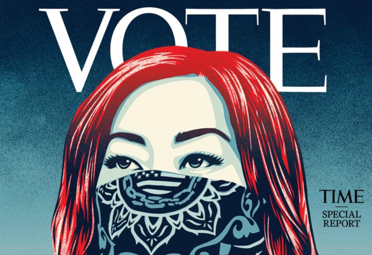 """""""Voto"""": Ndryshimi i historik i """"TIME"""" që u bën thirrje amerikanëve të marrin pjesë në zgjedhje"""