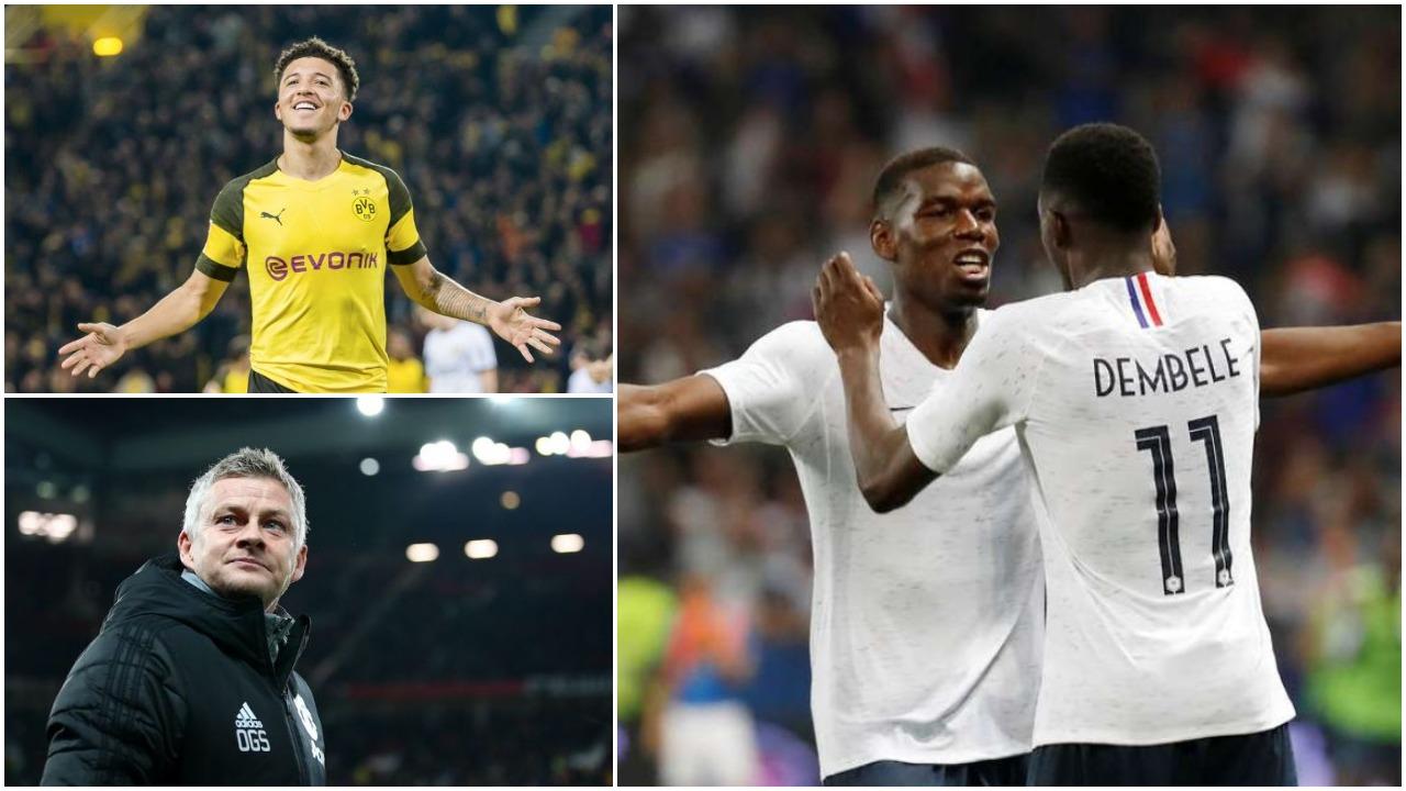 United heq dorë nga Sancho: Një kampion bote për Solskjaer, e bind… Pogba