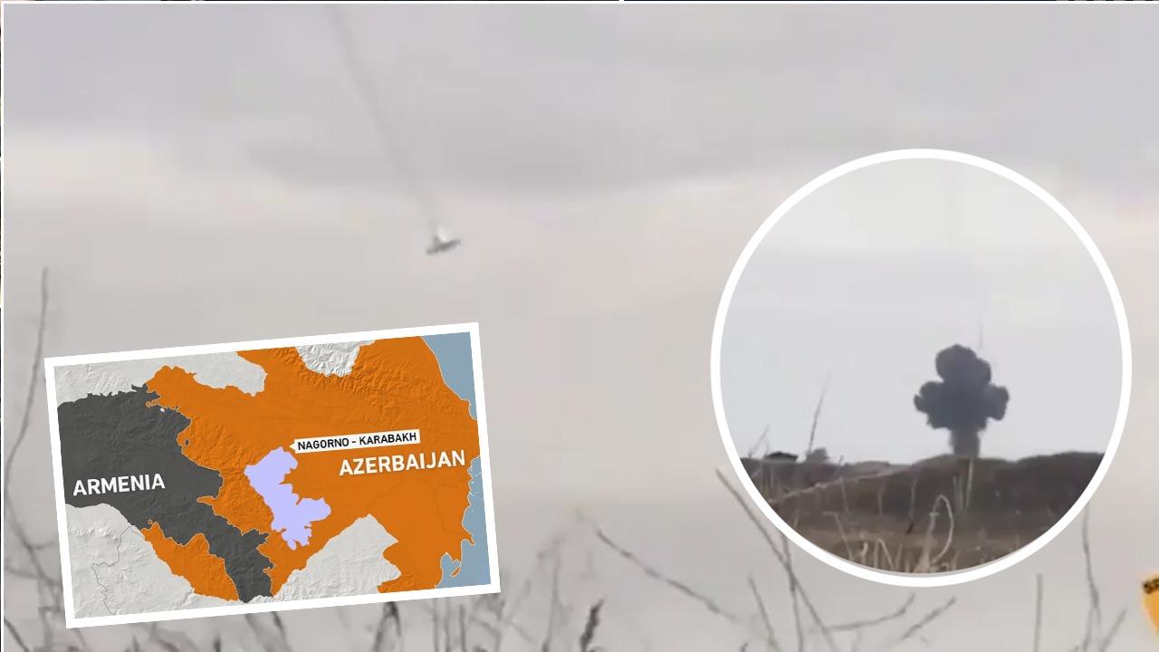 VIDEO/ Armenia rrëzon 5 helikopter dhe avionë, shkatërron edhe sistemin e raketave azere