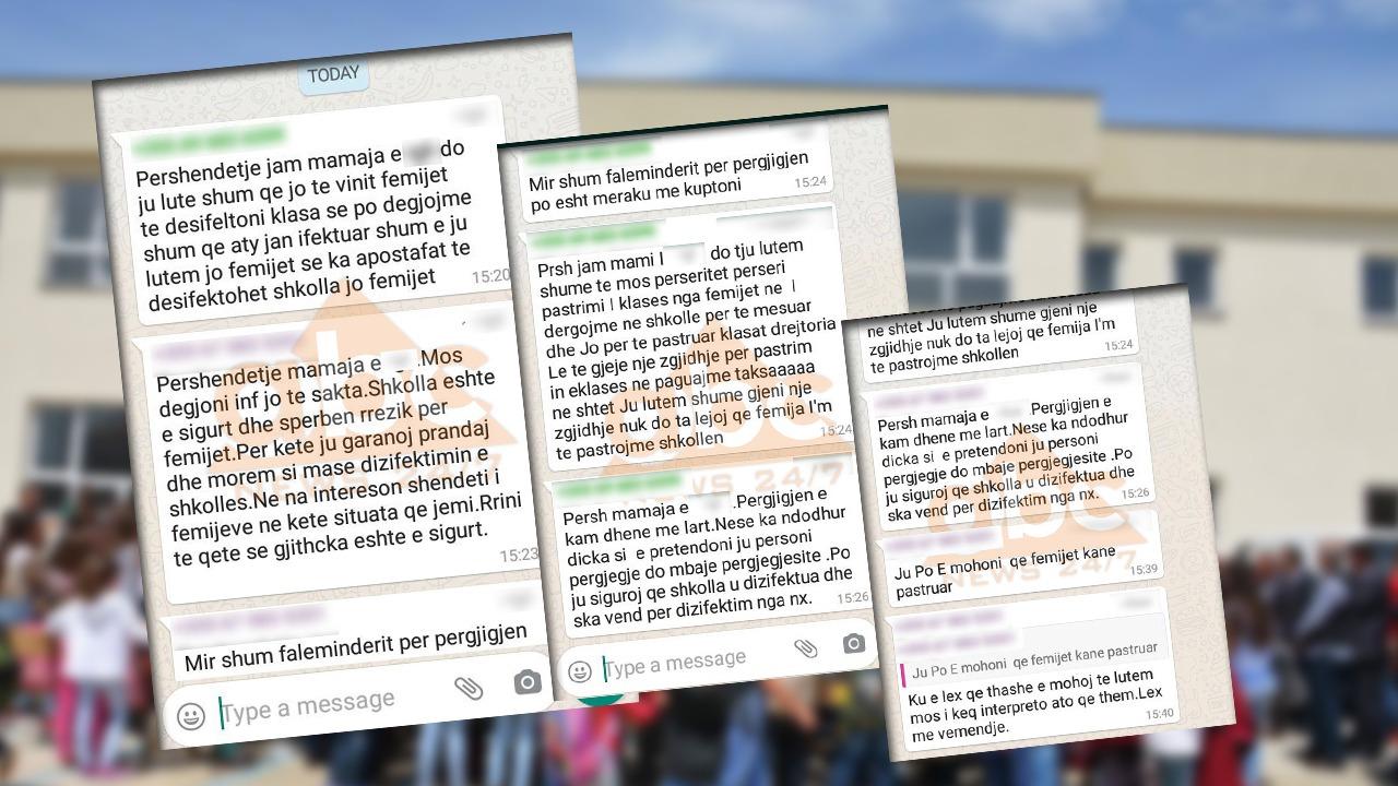 Prindërit të revoltuar në Korçë: Mësuesit i kthejnë nxënësit në pastrues