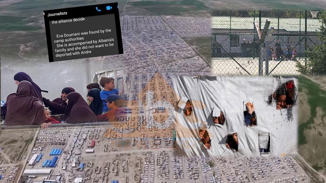 """""""Eva Dumani është gjetur në kamp"""", Gazetari publikon mesazhin: Pritet riatdhesimi"""
