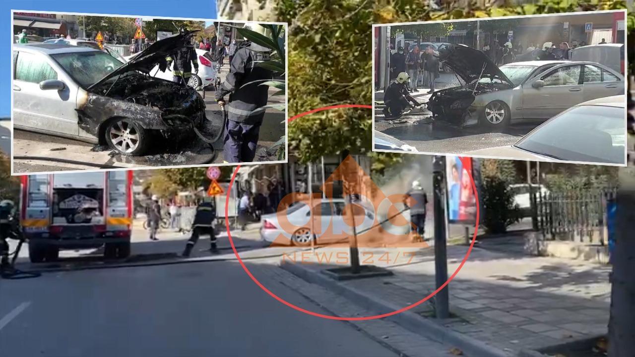 Digjet makina e vëllait të ish-Presidentit Bujar Nishani