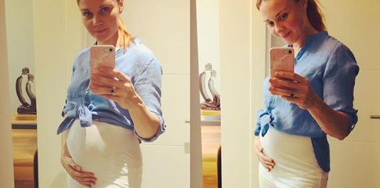 """""""Jam 4 muajshe shtatzënë"""", aktorja e serialit """"Osmani"""" ndan lajmin e ëmbël"""