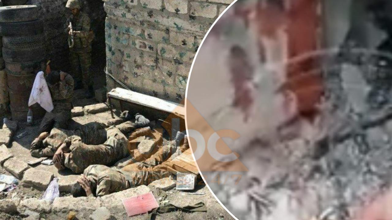 VIDEO/ Ushtari armen lidh këmbën me zinxhir që të mos lëshojë frontin