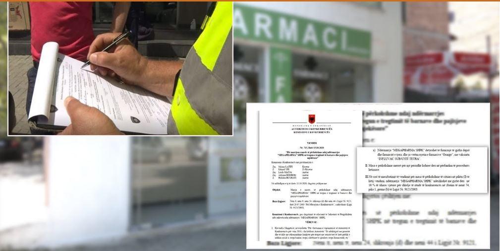 """Autoriteti i Konkurrencës gjobiti 24 farmaci, reagon """"Shoqata"""": Vendim anti-ligjor!"""