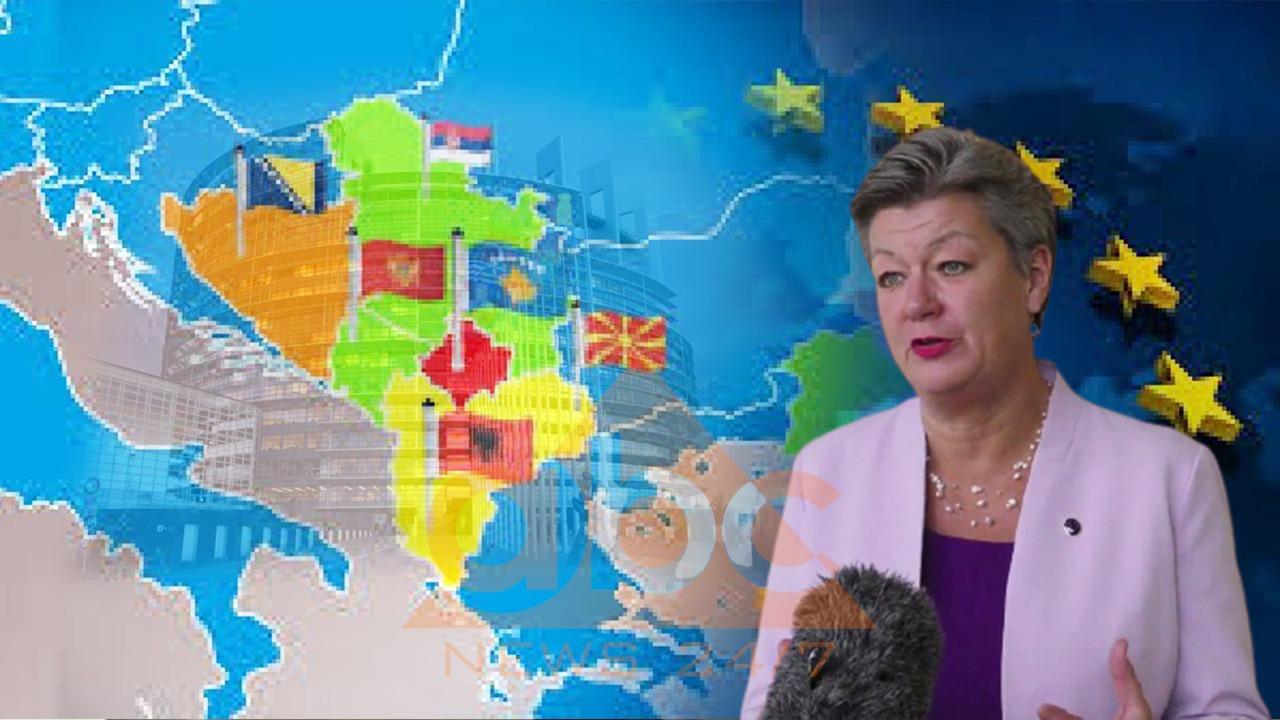 EKSKLUZIVE/ Komisioneria Johansson për Abc News: KE po shqyrton udhëtimet e domosdoshme për Ballkanin