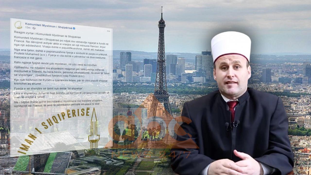 KMSH dënon sulmet në Francë: Fyerjet ndaj Profetit s'ndihmojnë në frymën e tolerancës