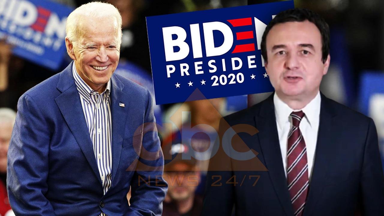 Kurti del kundër Trump, thirrje shqiptarëve në SHBA: Votoni Joe Biden, mbështetës i palëkundur i joni