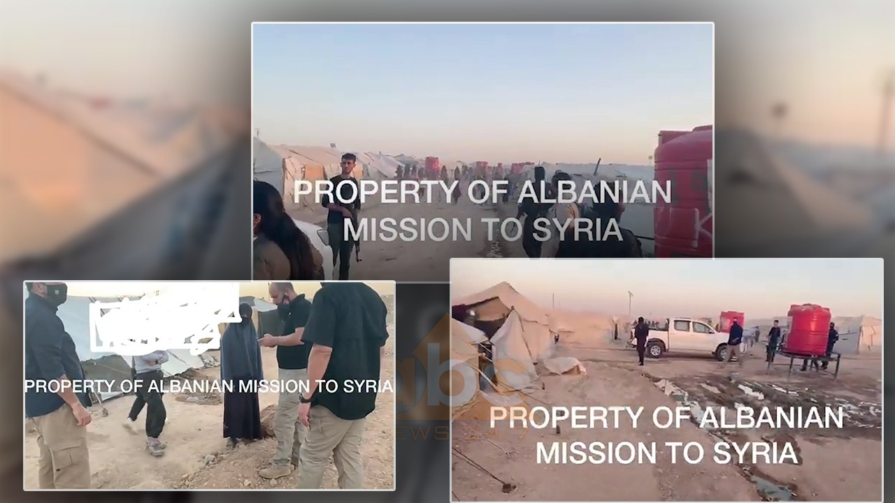 """Me maska dhe arme, si u nxorën nga """"ferri"""" i kampit Al-Hol në Siri fëmijët shqiptarë"""