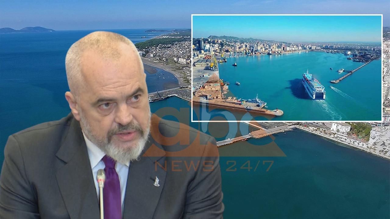 Rama paralajmëron spostimin e portit të Durrësit: Investime në tre qytete bregdetare
