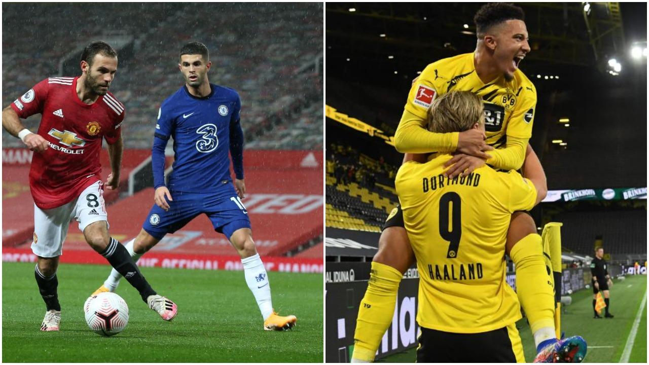 VIDEO/ Fiton frika në United-Chelsea, Dortmundit i mjafton një pjesë në derbi