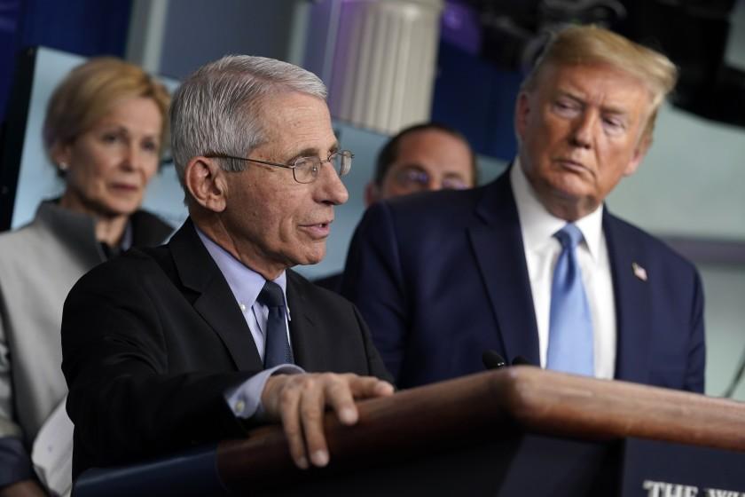 Donald Trump sulmon Anthony Faucin: Njerëzit janë lodhur duke dëgjuar këta idiotë