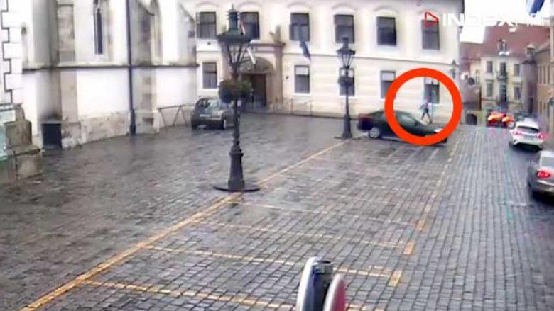 Sulmi ndaj ndërtesës së Qeverisë së Kroacisë, publikohen pamjet