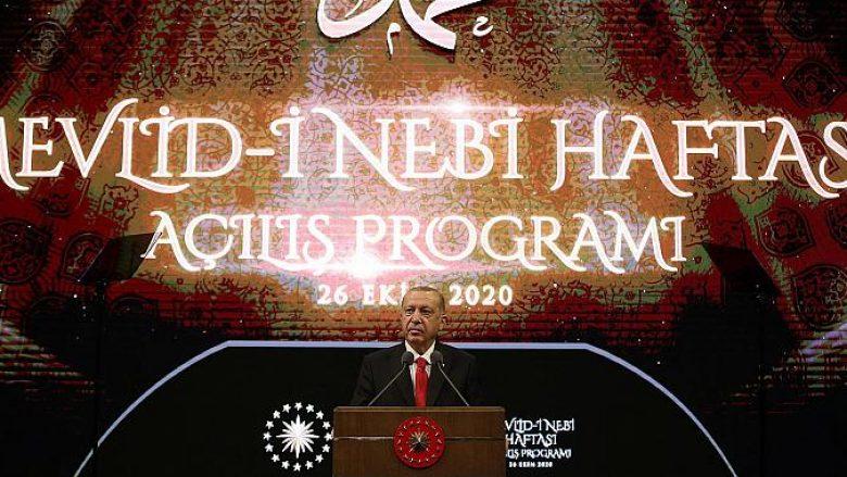 Erdogan: Myslimanët e Europës po trajtohen si hebrenjtë para Luftës së Dytë Botërore