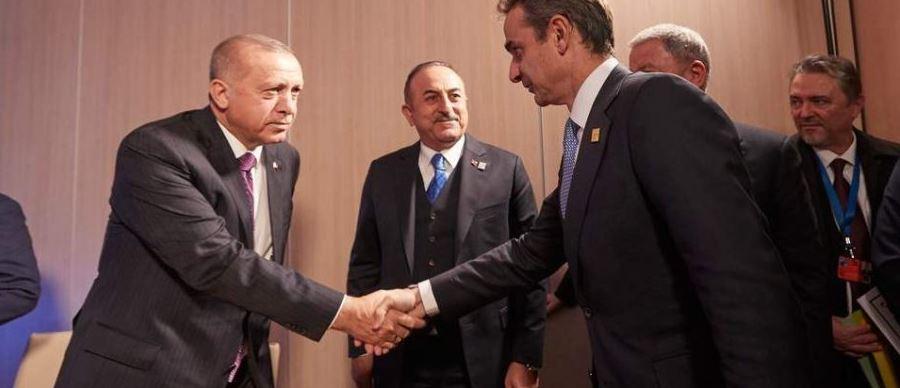 """Tërmeti """"shuan"""" konfliktin Greqi-Turqi, Mitsotakis telefonon Erdogan: Të qëndrojmë të bashkuar"""