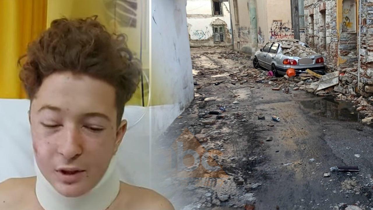 EKSKLUZIVE/ Flet babai i shqiptarit që u plagos nga tërmeti në Greqi: Na ra si bombë, e shpëtuan shokët