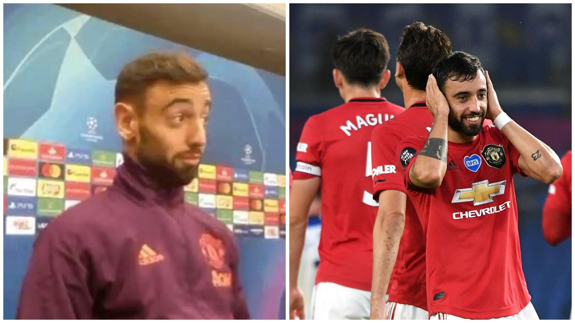 Bruno Fernandes kapiten i United, epik momenti kur e merr vesh