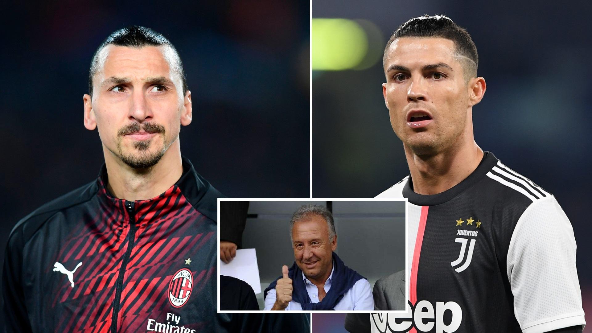 """""""Peng që s'e kam stërvitur Ibrën, po i jep Serisë A më shumë se Ronaldo"""""""