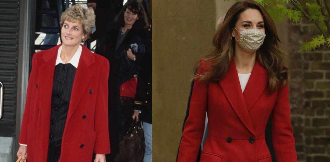 Nga Lady Diana, Kate Middleton tek Meghan Markle: Palltoja e kuqe mbetet një trend mbretëror