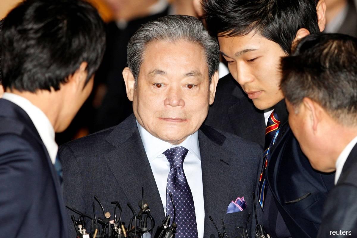 Vdes drejtori i Samsung-ut, njeriu më i pasur në Korenë e Jugut