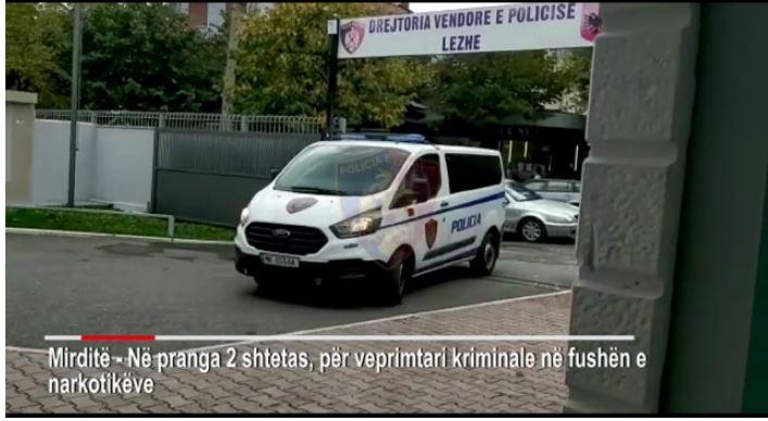 Drogë gati për shitje, policia arreston dy persona në Mirditë