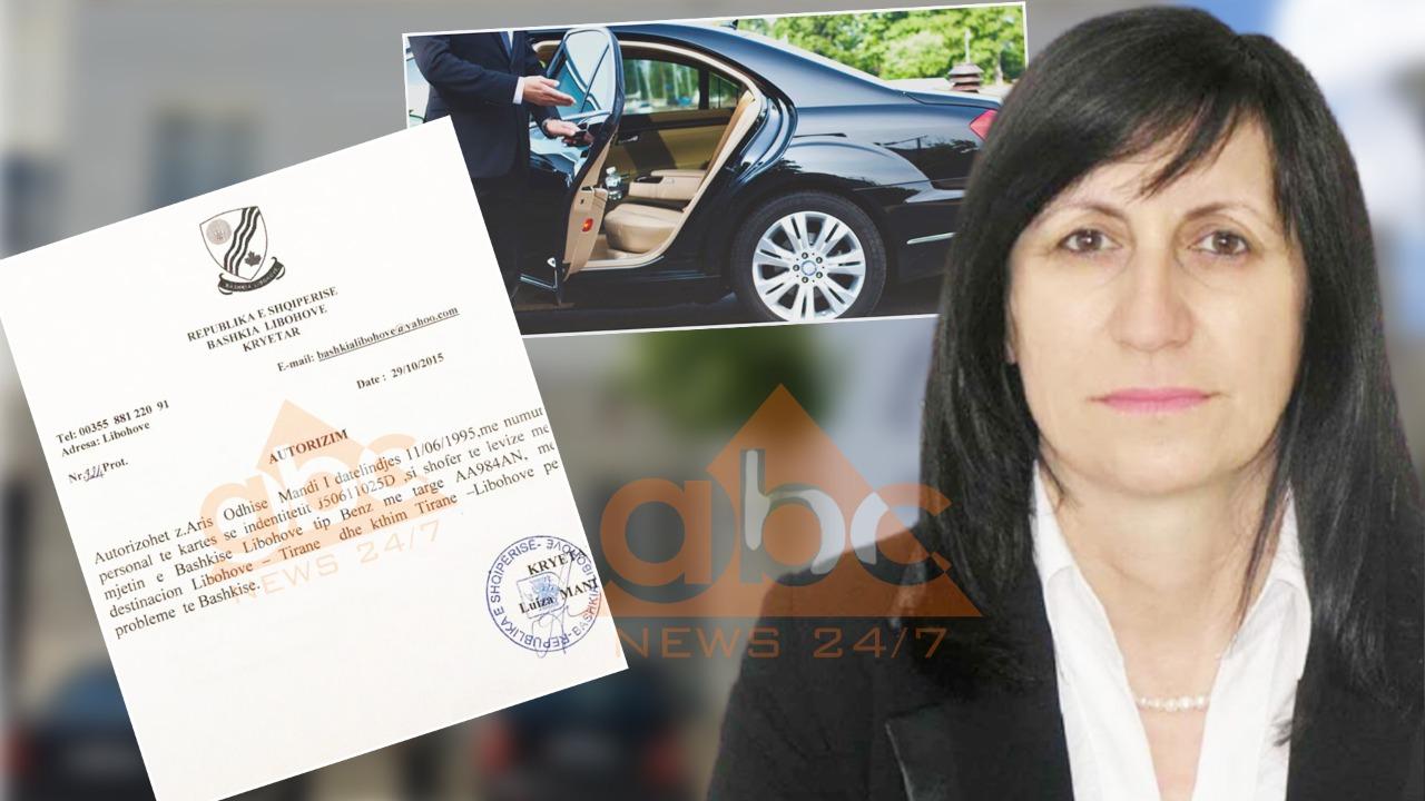 """Habit kryebashkiakja, firmos urdhrin: Djali im të lëvizë me """"Benz""""-in e bashkisë (Dokumenti)"""