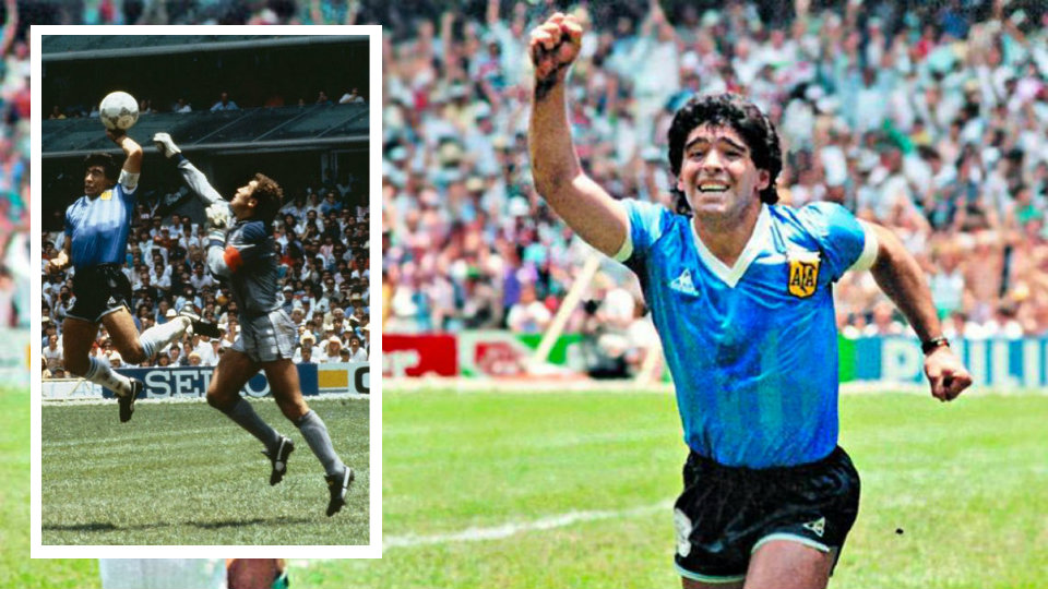 """Maradona tërbon anglezët me këtë deklaratë, do sërish """"Dorën e Zotit"""""""