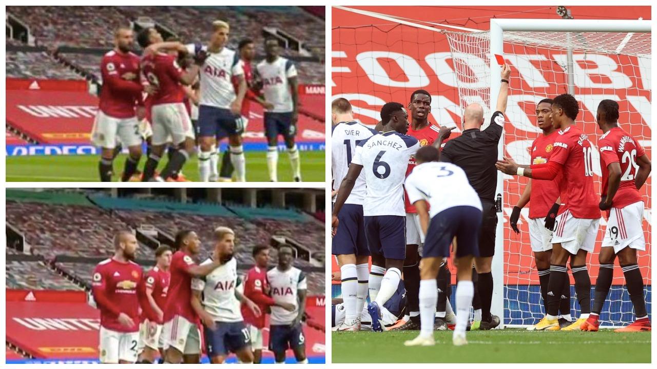 """VIDEO/ """"Hiqjani shiritin"""", pse tifozët e United janë tërbuar me Maguire"""