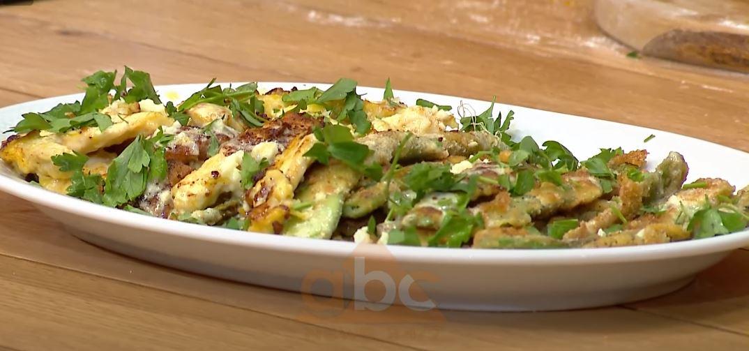 Mashurka në tigan me fileto pule – Receta nga Florenca Reçi