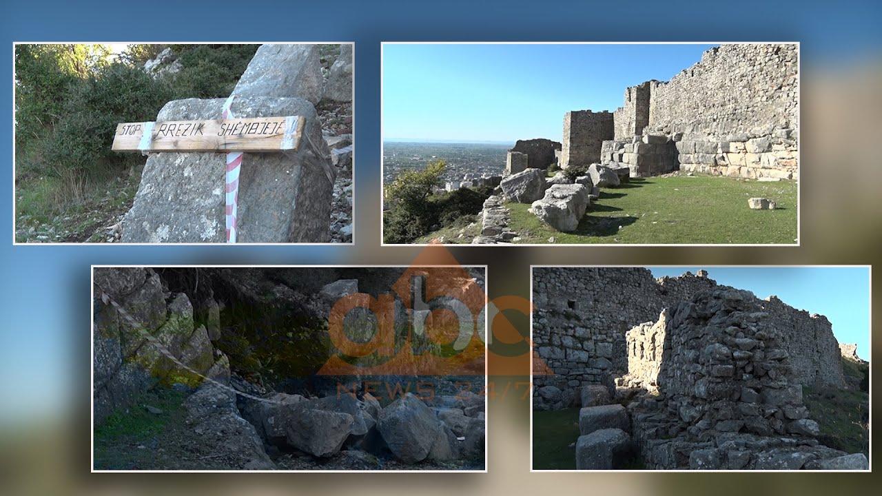 Rrënimi i kalasë mesjetare në Lezhë, gurët rrezikojnë të zënë poshtë banesa