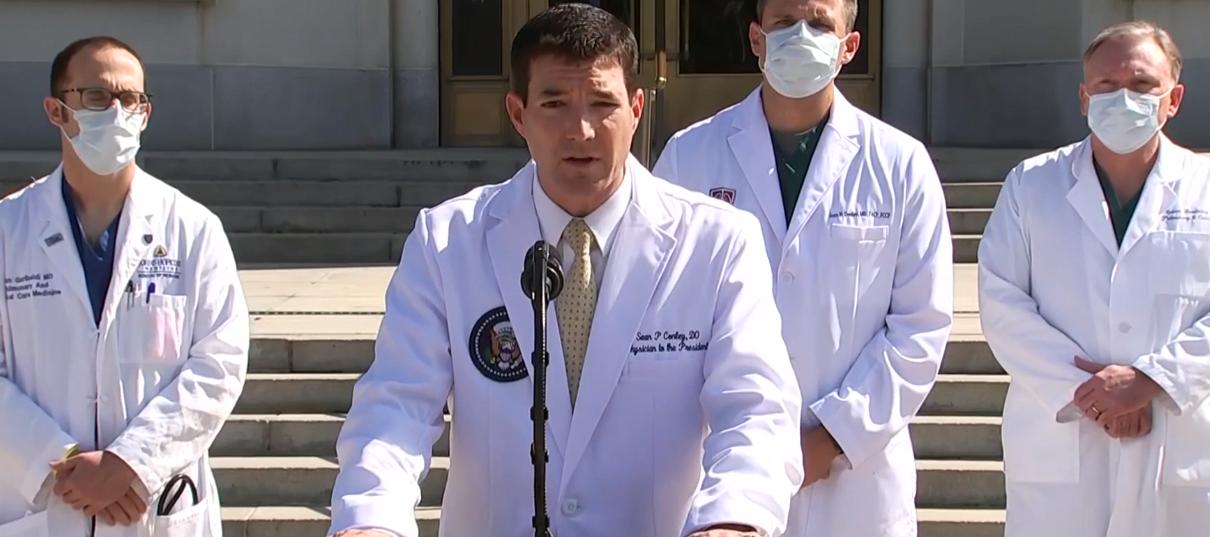 Mjekët që po kujdesen për Trump: Presidenti drejt përmirësimit, nesër mund ta nxjerrim nga spitali